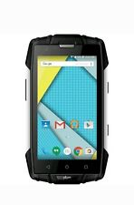 Plum - Gator 3 4G with 8GB Memory Cell Phone (Unlocked) - Black/Silver