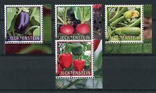 Liechtenstein 2018 CTO Crop Plants Vegetables 4v Set Nature Stamps