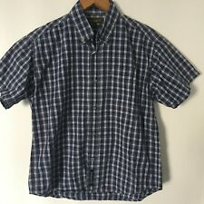 Boys TIMBERLAND 100% Cotton Short Sleeved Check Shirt (8 years)