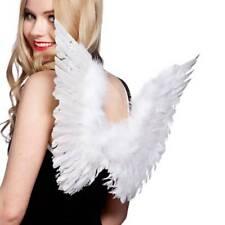 Feather Angel Wings Christmas Fancy Dress Costume Halloween Hen Night White