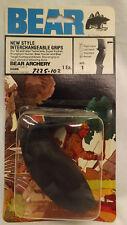 Vtg Fred Bear Archery post 1983 Compound Bow Grips, Tamerlane, Kodiak, Pronghorn