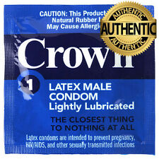 12 X Okamoto Crown Skinless Condoms ❤ Super Thin Latex ❤ ☆☆ 100% Genuine ☆☆
