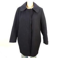 CLOSED Mantel Wollmantel Wolle Wool Blau Gr. XS 34 (B16)