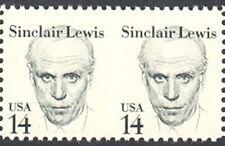 SC#1856c - 14c Sinclair Lewis Great American Error Pair MNH