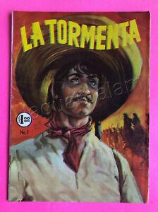 Mexican vintage Comic La Tormenta  No. 1  Jan 23th 1968