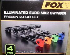 4 Fox Illuminated Euro MK2 Swinger  rot/gelb/grün/blau + Transportbox - CSI055