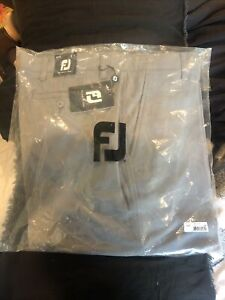 Mens Footjoy Gray Golf Shorts Size 36 New With Tags