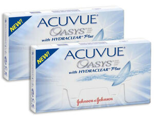 Acuvue OASYS Hydraclear PLUS 12 Stück BC 8.4/8.8  2-Wochenlinsen mit UV Schutz