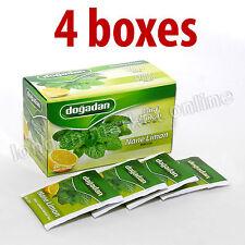 80 Mint-Lemon Instant Tea bags (4 box x 20 bags) Dogadan