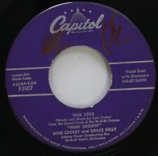 Pop 45 High Society - True Love / Well Did You Evah? On Capitol