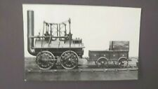 Locomotion No. 1 Engine Real Photo Postcard