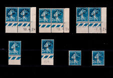 FRANCE ** PREO n° 56a  / 10 exemplaires / MNH / SURCHARGE FINE / TTBE