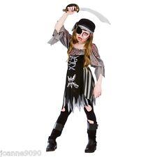 filles adolescente Zombie fantôme de caraïbes Pirate Teen déguisement halloween