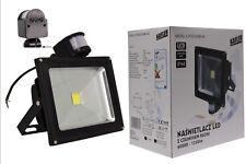 20W LED Strahler Fluter Scheinwerfer mit Bewegungsmelder Außenleuchte EU Ware