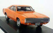 Greenlight 1/43 Scale - 1970 Dodge Charger R/T Orange Diecast Model Car