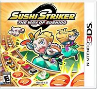 Sushi Striker: The Way of the Sushido for Nintendo 3DS [New Video Game] Ninten