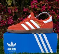 BNWB & Authentic Adidas originals ® Spezial Raw Amber Suede Trainers UK Size 8