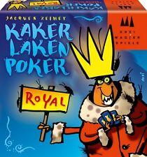 Kartenspiel Kakerlakenpoker Royal Drei Magier Spiel Bluffspiel Poker Karten Bunt
