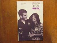 1972 Pa. TV Mag(FRANK SINATRA JR/CHRISTINE SINATRA/RICHARD THOMAS/SUZANNE CROUGH
