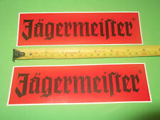 Jagermeister Jager old decals stickers X2