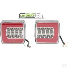 LED Light Set Neat Looking Red Glow Type Rear Tail Lamp Brake & Indicator WML