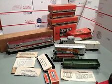 LIONEL POSTWAR TRAIN 2223W 2321 FM FREIGHT SET EXCELLENT ORIGINALS W/BOXS