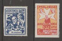 Spain local, cinderella revenue fiscal Stamp  12-24-20-1e mnh gum