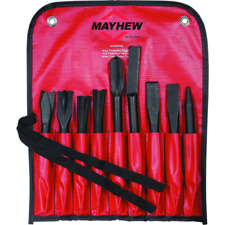 Mayhew 37322 9pc air chisel set made in usa