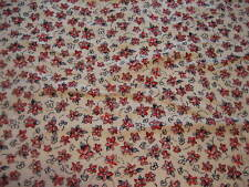 """NOS Medium Weight Sewing Fabric Red, White, Blue Stretch Knit - 25""""W X 56""""L - D5"""