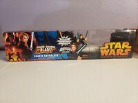 Star Wars Anekin Lightsaber With Figure Hasbro revenge of the sith