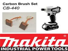 NEW Makita 18V LXT Impact Driver Bhp146 BTD140 Genuine CARBON BRUSH SET CB-440