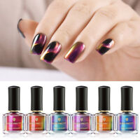 6ml BORN PRETTY Chamäleon 3D Katze Auge Nagellack Magnetic Nail Polish Blackbase