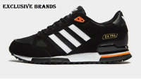 adidas Originals ZX 750 Black/White/Orang Mens Trainers All Sizes.