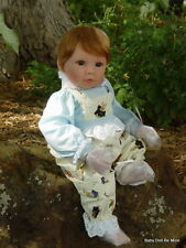 Retired * Lee Middleton Doll * Bunny Blue * Eva Helland