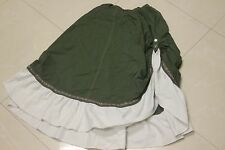 Renaissance Medium Green Skirt from Medieval Times Diner and Tornament. Used.