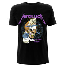 Official Metallica T Shirt Damage Inc Hammer Black Classic Rock Metal Band Tee