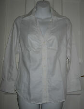 Cotton Semi Fitted Striped Petite Tops & Shirts for Women