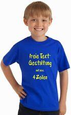 Kinder T-Shirt mit Wunschtext, Logo, Grafik, T-Shirt Druck nach Wunsch GJF08