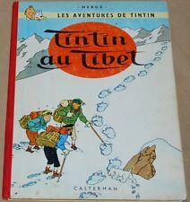 Tintin  -20- /Tintin au Tibet / EO Belge B29  1960 / TBE-
