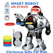 New Intelligent Robot RC Remote Control Walks Talks Dance Kids Toy Xmas Gift UK
