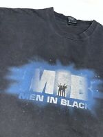 VTG 1997 Mens XL Men In Black Movie Promo Graphic T Shirt Giant