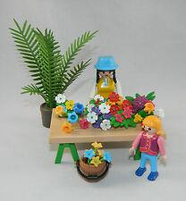 Playmobil Stand / Verkäuferin / Kind Flora Shop Gärtnerei 4481 4480 4484 #37952