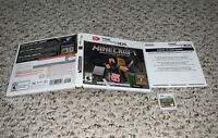 Minecraft: New Nintendo 3DS Edition (Nintendo 3DS, 2017) Complete