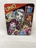 New Sealed Monster High UNO Card Game in a Tin