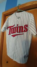 Vintage Mens Large Majestic Sewn Authentic Minnesota Twins Johan Santana #57⚾🔥