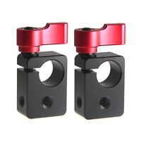 "2Pcs CAMVATE Single Rod Clip Clamp Rail Block 1/4"" for 15mm Support System DSLR"