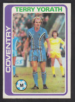 Topps - Footballers (Blue Back) 1979 - # 223 Terry Yorath - Coventry