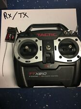 Tactic TTX810 8 Channel SLT Radio Transmitter R/C with Receiver inclu *open box*