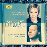 CD    Schubert Lieder     Abbado, COE, von OTTER, Quasthoff    NEU   Orchestra