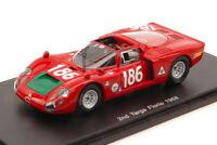Alfa Romeo 33/2 #186 2nd Targa Florio 1968 I. Giunti / N. Galli 1:43 Model